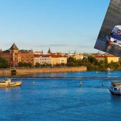 325 Kč za dvouhodinovou plavbu po Vltavě s bohatým obědem na lodi a aperitivem. Romantická záležitost a Praha z nové perspektivy se slevou 50 %.