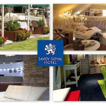 1999 Kč za dvě noci pro dva v pětihvězdičkovém hotelu Savoy Royal. Přepychové ubytování ve Špindlerově Mlýně, luxusní relaxace a sleva 65 %.