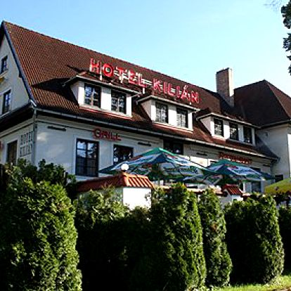 Jen 1990 Kč za tři dny pro DVĚ osoby v Hotelu Kilián**** kousek od Lipna. Objevte krásy a klid jižních Čech!
