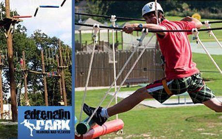 359 Kč za 6 atrakcí. Powerriser, bungee trampolína, big swing a mnoho dalších v hodnotě 720 Kč. Skvělá zábava v Adrenalin parku s 50% slevou.