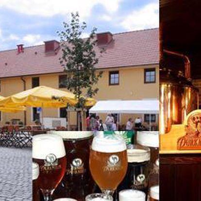 Víkendový pobyt v hotelu Purkmistr**** pro dva se slevou 50 %. Osobní prohlídka plzeňského pivovaru s degustací a dalšími pivními specialitami.