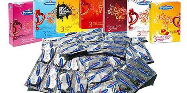 419 Kč za 100 kondomů Primeros různých typů!