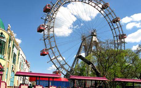 Zájezd do Vídně v sobotu 16.7. jen za 275 Kč! Prater, Schönbrunn a vídeňská ZOO čekají!
