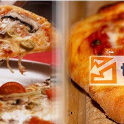 89 Kč za křupavoučkou pizzu a nápoj jen dle vašeho výběru! Nenechte se omezovat a vyberte si, na co máte zrovna chuť se slevou 54%.