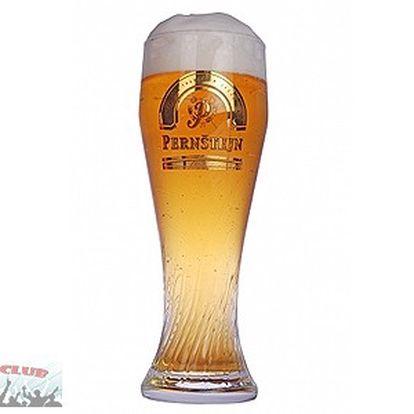 Jen 39,- za 3 velká točená piva pernštejn 11°!