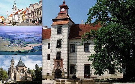 Senzační 3 denní pobyt pro 2 se snídaní v samém srdci jižních Čech – TŘEBONI! Na ráj cyklistů – třeboňskou pánev, třeboňský zámek a další blízké jihočeské památky a pamětihodnosti jen tak nezapomenete!