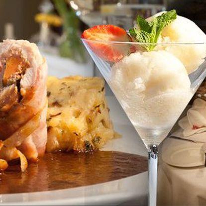 499 Kč za degustační menu pro DVĚ osoby. Fantastický gurmánský zážitek se slevou 62 %.