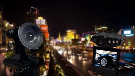 Pořiďte si digitální kameru do auta s nočním viděním se skvělou slevou, nyní jen za 1675 Kč! Budete mít vždy jistotu, že máte u sebe důkaz při případné nehodě.
