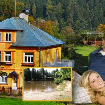 Nezapomenutelný pobyt v Českém Švýcarsku v srdci Lužickych hor, kde budete relaxovat v přírodě obklopeni klidem a pohodou. Pobyt pro dvě osoby na dvě noci jen za 1390 Kč! Zapůjčení kol na dva dny zdarma!