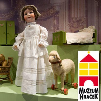 Jen 36 Kč za vstupenku na VÝSTAVU HISTORICKÝCH HRAČEK ze sbírky Milady Kollárové. Muzeum hraček se slevou 40% pouze na Slevušce!!!