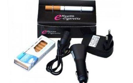 Elektronická cigareta za 369 Kč Vám pomůže snadno a rychle přestat kouřit. Vzhled podobný běžné cigaretě, ale neobtěžuje okolí kouřem a zápachem a je nesrovnatelně zdravější. Množství nikotinu a příchutě jsou volitelné. Měsíční náklady až 5x nižší než u standardních cigaret. Přemýšlíte o tom přestat kouřit? Trápí Vás všudypřítomný cigaretový zápach? Pak právě pro Vás je naše e-cigareta tím pravým řešením.