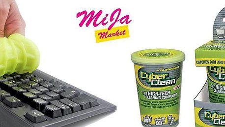 69 Kč za unikátní čistící prostředek na elektroniku Cyber Clean. Zbavte své počítače, mobily, kamery a další elektroniku bakterií a špíny se slevou 53%.