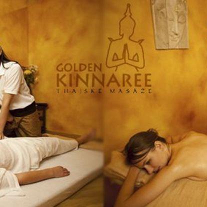499 Kč za autentickou thajskou masáž v délce 60 minut. Nádherná exotická atmosféra a výběr ze sedmi profesionálních masáží se slevou až 61 %.