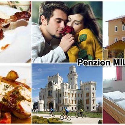 2 500 Kč za 3 dny pro 2 osoby včetně snídaní v KRÁSNÉM ROMANTICKÉM PENZIONU Miltom PŘÍMO V CENTRU Českých Budějovic! Velké množství nádherných výletů a vycházek, vychutnejte si romantiku!