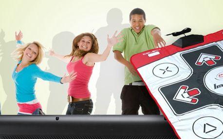 693 Kč za taneční podložku Impact Dance Pad. Snadné připojení přes USB, zvládnutí i těch nejnáročnějších her a sleva 30 %.