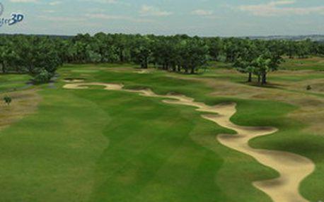 Zahrajte si s přáteli na supermoderním 3D golfovém simulátoru GolfBlaster s 49% slevou. 2x 1 hodina hry + francouzská palačinka + čaj či káva v Aurum Pacific Golf Clubu v Praze-Lahovicích. Až 4 osoby na 1 hru.
