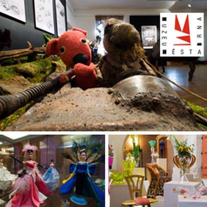 Jen 138 Kč za vstupenku na 3 jedinečné výstavy na hradě Špilberk – Design by BOŘEK ŠÍPEK, KUKY SE VRACÍ…na Špilberk, BARBIE všatech krásných jako sen. Vstupenka se slevou 40 %!
