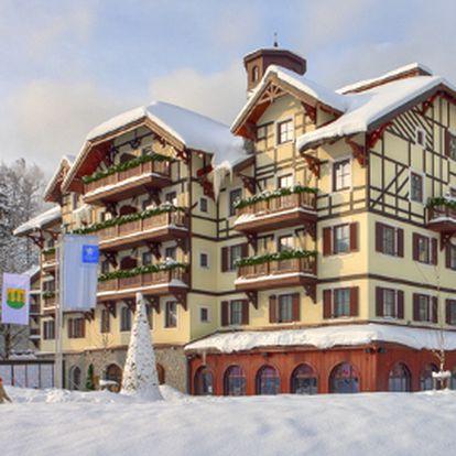 Jen 4990 Kč za dvě luxusní noci PRO DVA v Savoy Royal Hotel ve Špindlerově Mlýně!