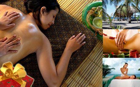 BALI masáž v délce 90 minut prováděna egyptským masérem s exkluzivním efektovým zážitkem! Stejně jako ostrov Bali, krásný, plný vůně, exotických stromů a květin je i masáž bali plná energie a exotiky. Darujte svým blízkým exotický zážitek! Platnost až do 31.3.2012