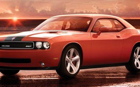999 Kč za nezapomenutelnou 30minutovou jízdu ve vozech Ford Mustang nebo Dodge Challenger. Americká žihadla se vrací se slevou 80 %!