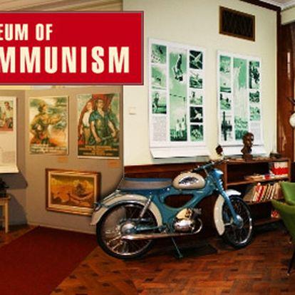189 Kč za DVĚ vstupenky do Muzea komunismu v hodnotě 380 Kč. Děti do 10 let zdarma.
