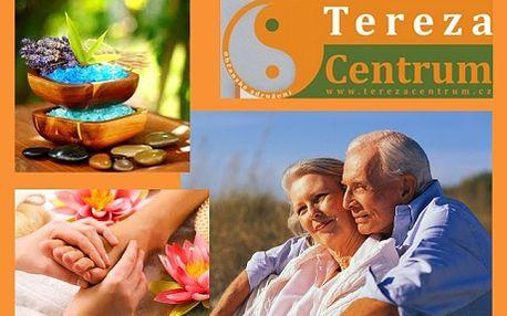695 Kč za SPA lázeňské služby pro seniory, 5x40 minut. Olejová masáž včetně čínské masáže plosek nohou, aromaterapie a termoterapie RELAX a REKONDICE. Můžete si zvolit i DETOX - infrasaunu. Pro ženy masáž dekoltu a částečná lymfa hrudníku a rukou, pro muže zdůrazněná část diagnostická - plosky nohou a záda. Nemůžete si dovolit lázně? Nevadí, jsme tu pro Vás!