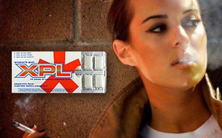 Chcete přestat kouřit? Máme pro Vás jedinečnou nabídku! 144 ks žvýkaček XPL za pouhých 85 Kč Vám nejenom vyčistí zuby a osvěží dech, ale hlavně vyloučí nikotin z těla. Začněte žít zdravý život se slevou 66 %.