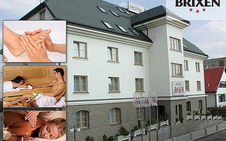 Wellness pobyt pro 2 v Havlíčkově Brodu! Polopenze, sauna a masáže!