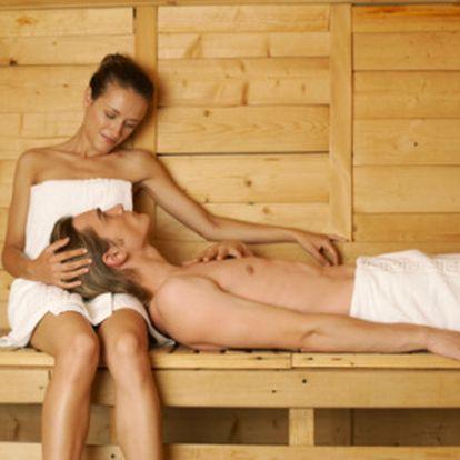 Privátní sauna pro dva za 275 Kč!