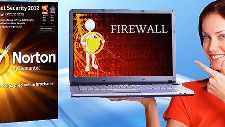 599 Kč za špičkový antivirový program Norton Internet Security 2012 (CZ). Licence pro jeden počítač s aktualizacemi na 1 rok a slevou 50 %.