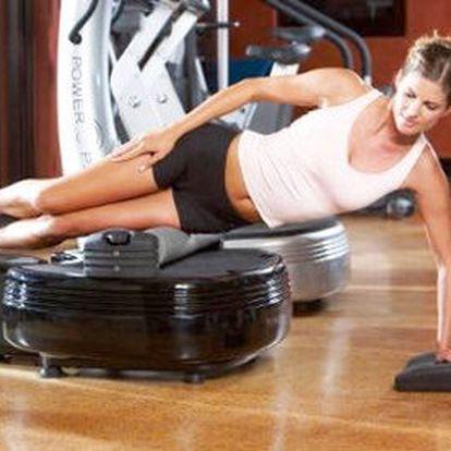 Lekce Power Plate s trenérem – 30 minut vibračního cvičení, nahradí 2 hodiny v posilovně. Na efektivitu cvičení dohlédne zkušená trenérka