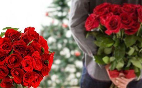 Nejlepší dárek pro Vaší partnerku! 7 RŮŽÍ z HOLANDSKA ve třech barvách za skvělých 199 Kč! RŮŽE V DÉLCE 60 CM! Ušetříte 64% běžné ceny!