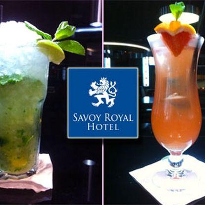 DEJTE SI DRINK na horách! Vyberte si ze dvou drinků ve Ski Clubu, který je součástí SAVOY ROYAL HOTELU ve Špindlu!