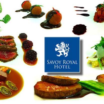 Exklusivní degustační menu v restauraci nejluxusnějšího savoy royal hotelu ve špindlerově mlýně!