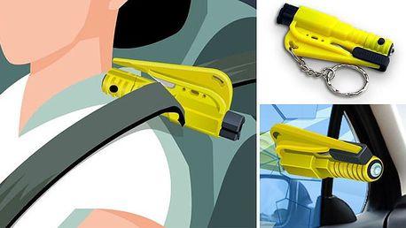 JEN 169 Kč za ZÁCHRANNOU BEZPEČNOSTNÍ sadu Bodyguard – tři účinné nástroje, které vám při autonehodě mohou zachránit život. Pořiďte si HIT USA a získejte pocit většího bezpečí!