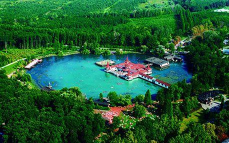 Objevte i vy zázračné účinky největšího termálního jezera na světě! 3denní pobyt s polopenzí a vstupem do wellness centra v 3* Erzsébet Hotelu Héviz pro 2 osoby za 2965 Kč!