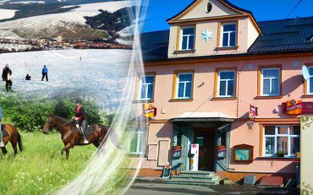 LUŽICKÉ HORY s 45% slevou!! Jen 1 699 Kč za 3 dny (2 noci) pro 2 osoby v Penzionu Polevsko včetně polopenze!! Zdarma návštěva Modlivého dolu Svojkov, sloupského hradu, skalního divadla nebo panské skály!! Ušetřete s námi 1 381 Kč!!