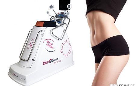 TÍHLÁ, bez CELULITIDY a VRÁSEK za 999 Kč! Pohodlné cvičení VacuShape (5x40 min.), lymfodrenáž (5x20 min.) + lifting obličeje.