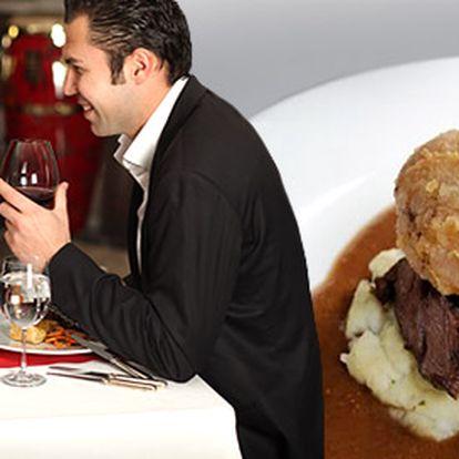 399 Kč za luxusní tříchodové menu PRO DVA v nové francouzské restauraci. Stylový interiér a prvotřídní suroviny. Pochutnejte si se slevou 59 %.