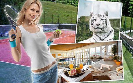 Sportovně-relaxační víkend s tenisem v Jizerských horách pro 2 osoby. Výlety, turnaj, nebo wellness!