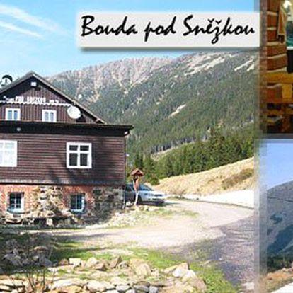Ubytování na jeden nebo tři dny v Krkonoších s polopenzí jen od 595Kč! Odpočiňte si a užijte si nádhernou přírodu Krkonoš v Boudě pod Sněžkou!