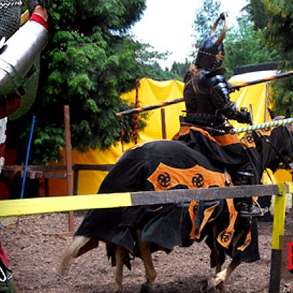 Vstupenka na rytířské turnaje na koních na hradě Kost! Středověké bitvy, řinčení zbraní a souboje udatných rytířů skupiny Ordo Kromen.