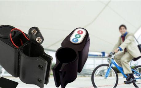 Chraňte svůj majetek! Opatřete svoje kolo, kočárek nebo motocykl hlasitým alarmem! Lupič si krádež jistě rychle rozmyslí! Alarm za pouhých 299 Kč může ochrátit Váš majetek v hodnotě statisíců! Sleva 40%!