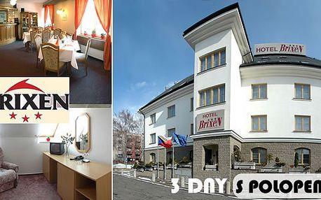54% sleva na 3denní relaxační pobyt PRO DVA s POLOPENZÍ v hotelu Brixen v Havlíčkově Brodu! Masáž, vířivka a sauna jen za 1999Kč!