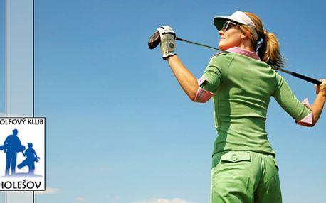 6 500 Kč za golfový den s turnajem pro 6-9 hráčů v golfovém klubu Holešov. 3 lekce s instruktorem, občerstvení a hřiště rezervované jen pro Vás! HyperSleva 46 %.