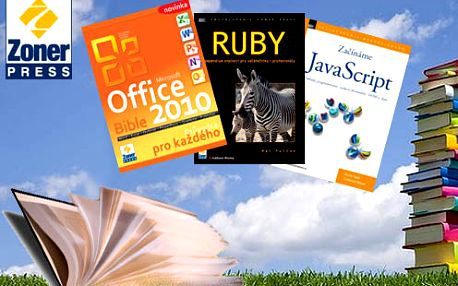 Využite nákup počítačovej literatúry so zľavou až do výšky 50% - získate knihy už od 5 € za poukážky v hodnote 10 €!
