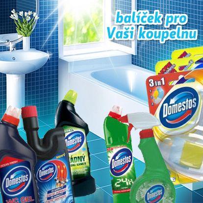 Udržet domácnost v čistotě nebylo nikdy jednodušší než se slevou 55% na balíček výrobků Domestos! Za 7 kvalitních mycích prostředků pouhých 289 Kč a Váš domov bude zářit čistotou!