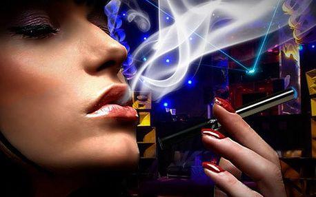 2ks E-cigareta eGO-T 1100mAh, nabíječka a 5 náplní