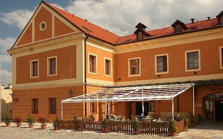 3denní relaxační pobyt v jižních Čechách ve ****Wellness Hotelu Dvořák Tábor