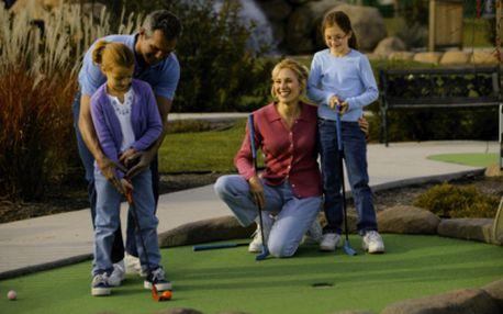 Neomezený adventure golf za 50 Kč! V ceně i zapůjčení hole, míčku a protokolu pro záznam!